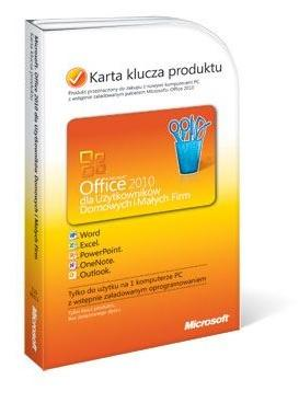 Ms Office 2010 dla Użyć domowy i Firm PKC (T5D-00311)