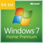 Microsoft Windows 7 Home Premium 64bit SP1 DVD OEM PL (GFC-02062)