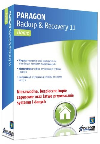 Paragon Software Backup & Recovery 11 Home PL ESD (9100260)