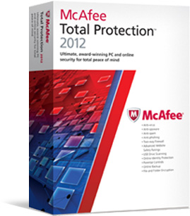 McAfee Total Protection 2012 ESD (1 stan/12 mc) MTP12DMB3RDA
