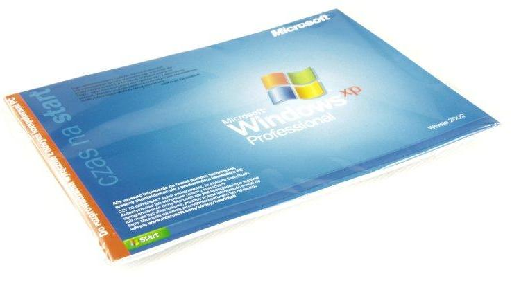 Microsoft MS Windows XP Professional SP Polish (E85-05781)