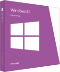 Microsoft Windows 8.1 PL 32 bit 64 bit BOX (WN7-00934)